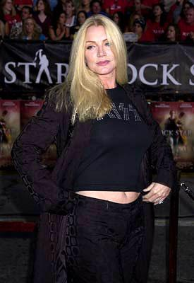 Premiere: Shannon Tweed at the Westwood premiere of Warner Brothers' Rock Star - 9/4/2001