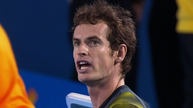 Frustrated Murray irked by crowd