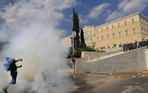 Greek Parliament Passes Austerity Bill Despite Clashes