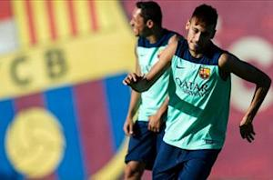 Neymar in line to make Barcelona bow on Tuesday