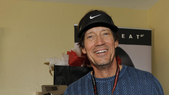 Actor Kevin Sorbo visits FHI HEAT hair tools at the Fender Music lodge during the Sundance Film Festival on Saturday, Jan. 19, 2013, in Park City, Utah. (Photo by Jack Dempsey/Invision for Fender/AP Images)