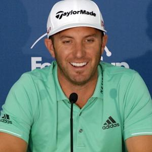 Dustin Johnson on his game and being a father before the Zurich Classic