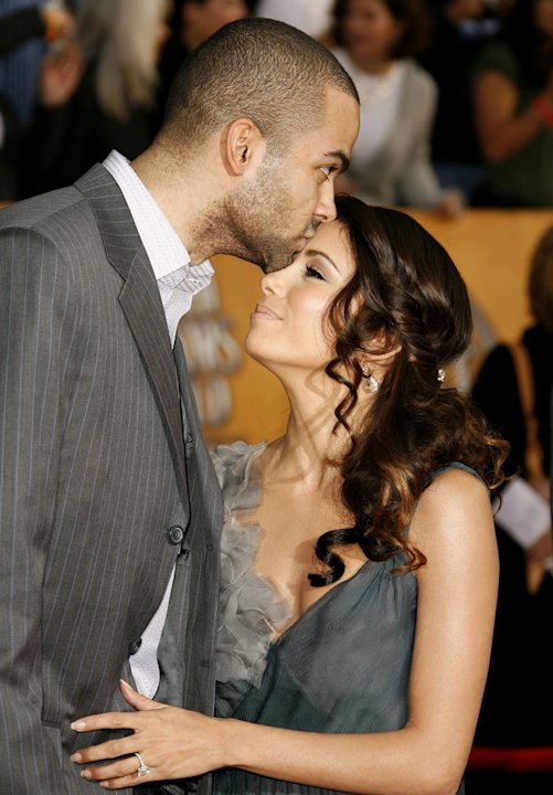 Tony Parker and Eva Longoria at 13th Annual Screen Actors Guild Awards.