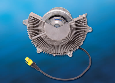 Now produced locally in Brazil, BorgWarner's electronically controlled Visctronic® fan drives respond directly to the engine's cooling needs, precisely controlling the fan speed to deliver efficient engine cooling, improved fuel economy and reduced emissions for trucks, buses and off-highway applications.
