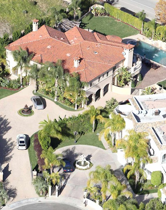 Odom Kardashian Mansion