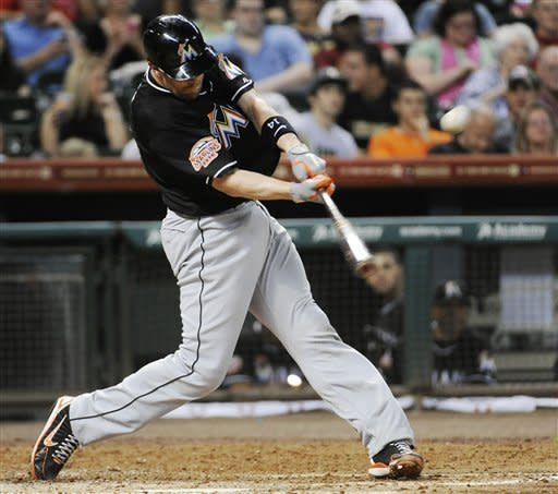 Zambrano tosses 3-hitter as Marlins top Astros 4-0