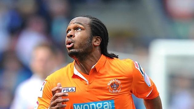 Nathan Delfouneso spent time on loan at Bloomfield road last season