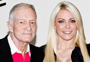 Hugh Hefner and Crystal Harris | Photo Credits: Tibrina Hobson/WireImage