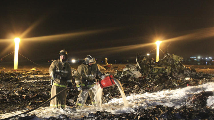 Russian crash investigators find voice recorder