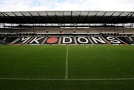 MK Dons have loaned forward Jordan Ivey-Ward to Histon