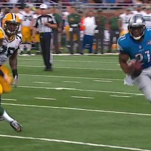 Detroit Lions running back Reggie Bush 26-yard touchdown run