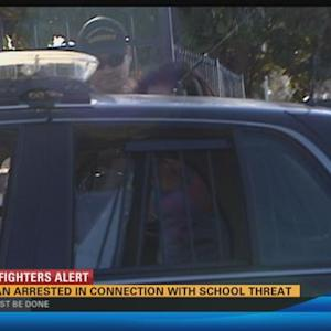Woman arrested in connection with school threat in Lakeside