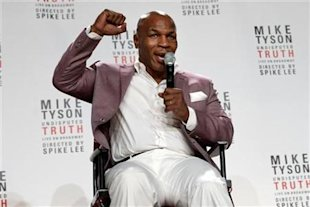 "Mike Tyson talks about the debut of his one-man show ""Mike Tyson: Undisputed Truth."" (Reuters)"