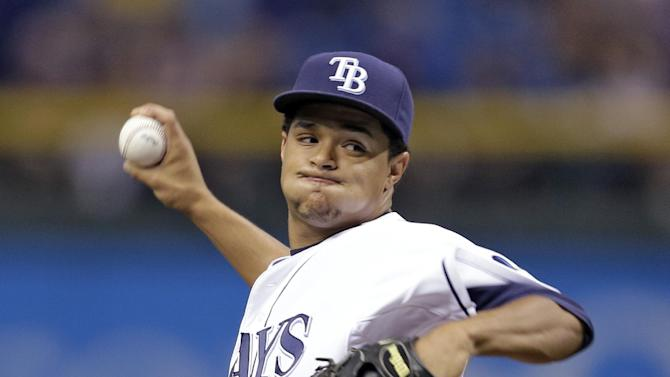 Archer, DeJesus help Rays beat Angels 4-1