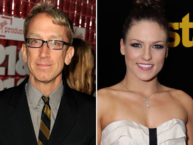 Andy Dick & Sharna Burges …