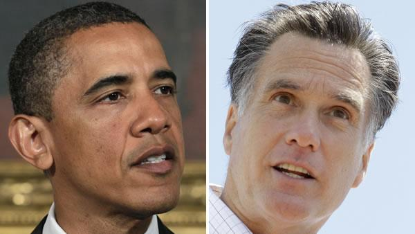 Obama, Romney criss-crossing battleground states
