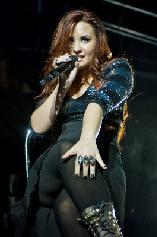 Demi Lovato performs at the Rosemont Theatre in Chicago, Ill., on December 3, 2011  -- Getty Premium
