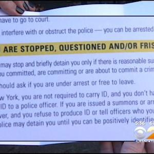 Local School Teaches Students How To Deal With Cops