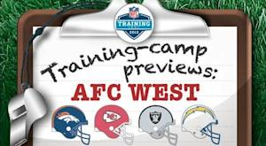 AFC West training-camp reports