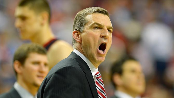 Maryland's head coach Mark Turgeon