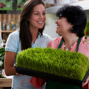 Mom-and-daughter-holding-wheatgrass_web