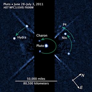 Pluto Has a Fifth Moon, Hubble Telescope Reveals
