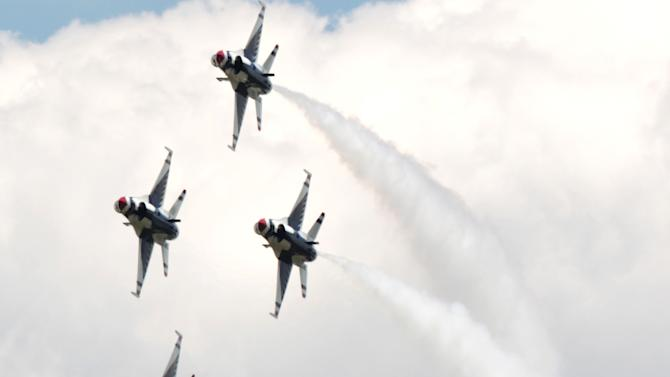 Dozens of air shows cancel without military jets