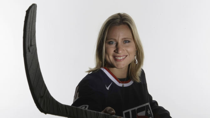 Angela Ruggiero's 'whirlwind' summer continues with U.S. Hockey…