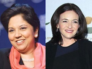 Indra Nooyi, PepsiCo; Alessandro Della Valle/EPA/Newscom