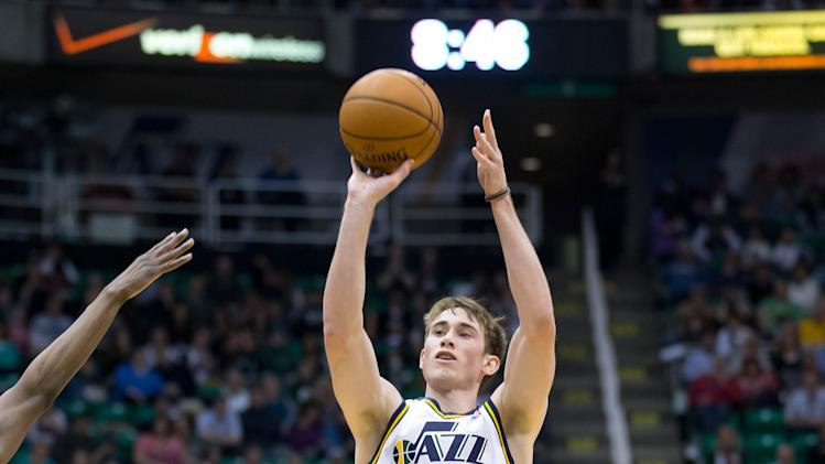 NBA: Dallas Mavericks at Utah Jazz
