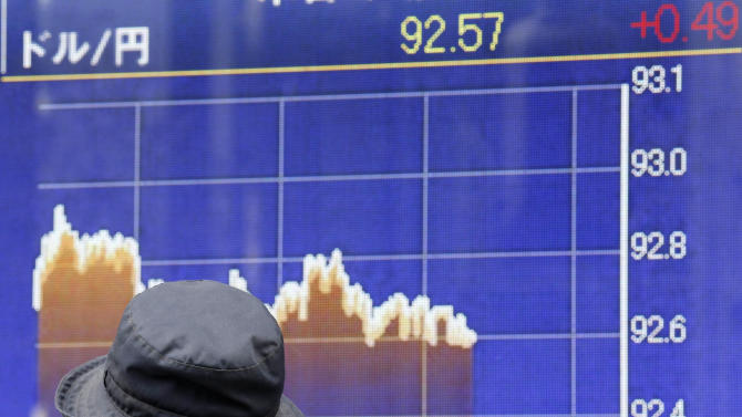 Asian markets fall after US, Europe declines