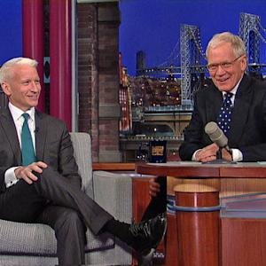 David Letterman - Anderson Cooper on Toronto Mayor Rob Ford
