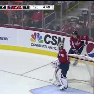 Michael Hutchinson Save on T.J. Oshie (15:22/1st)