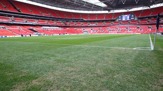 2010 General View of the Wembley pitch