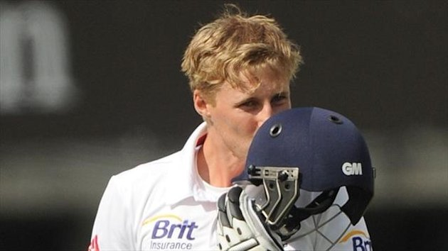 Joe Root struck his first ton as an England opener at Lord's