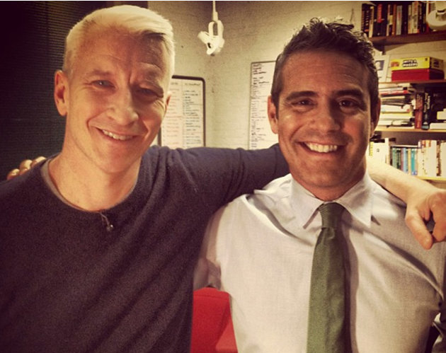 Anderson Cooper and Andy  …