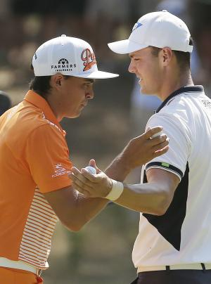 Rickie Fowler ties for 2nd at US Open