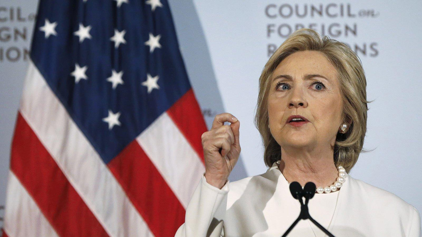 Clinton's Campaign Promises Total Nearly $1 Trillion – With More to Come