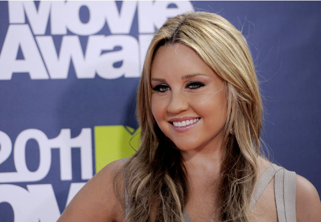 FILE - In this June 5, 2011 file photo, Amanda Bynes arrives at the MTV Movie Awards, in Los Angeles. Internal Affairs officers on Saturday, May 25, 2013 were looking into allegations made by actress