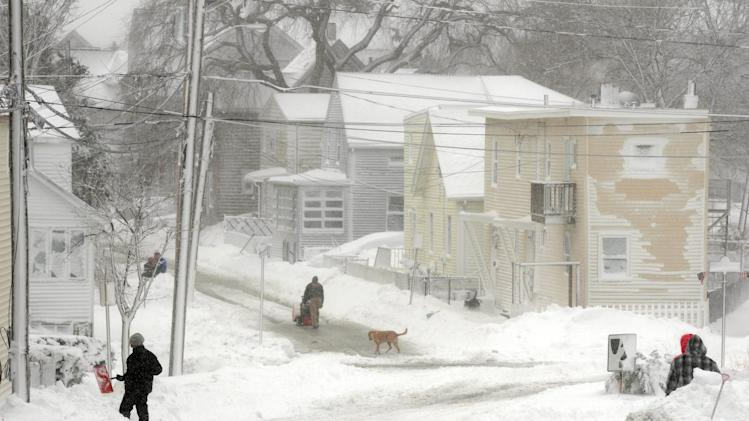 Massive Blizzard Hits New England