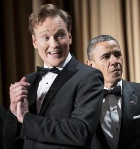 President Slams Media But Conan Softballs Obama At Lame WH Correspondents Dinner