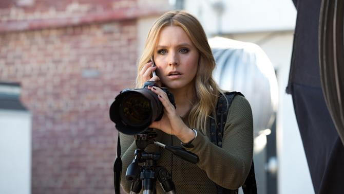 """This image released by Warner Bros. Pictures shows Kristen Bell in a scene from """"Veronica Mars."""" (AP Photo/Warner Bros. Pictures, Robert Voets)"""