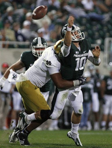 Spartans must try again to recover from Notre Dame