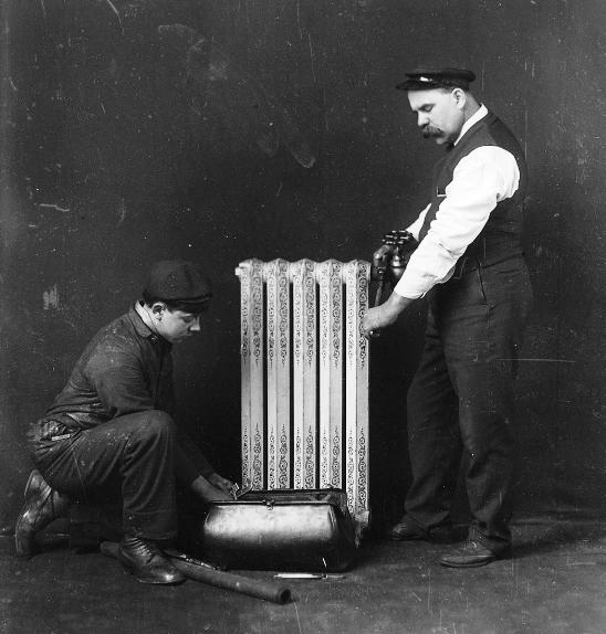 "The first central heating systems appeared in 1880 - but the technology took some time to become mainstream. Robinson says, ""The idea of a warm house was a totally foreign idea to me while growing up."