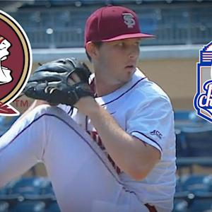 FSU Pitcher Drew Carlton Talks Gem Against #4 Louisville