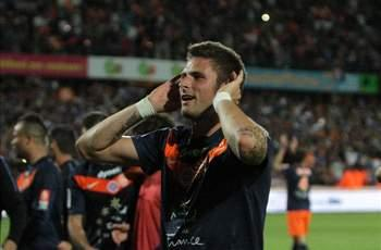Giroud: Winning Ligue 1 with Montpellier is exceptional
