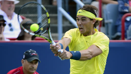 Nadal beats Raonic in Montreal final