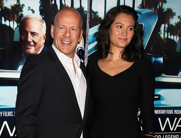 People: Bruce Willis to be a dad again