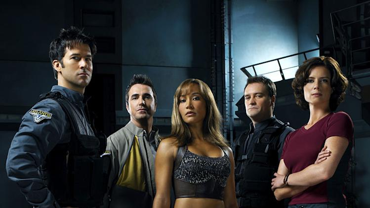 The cast of Stargate Atlantis.