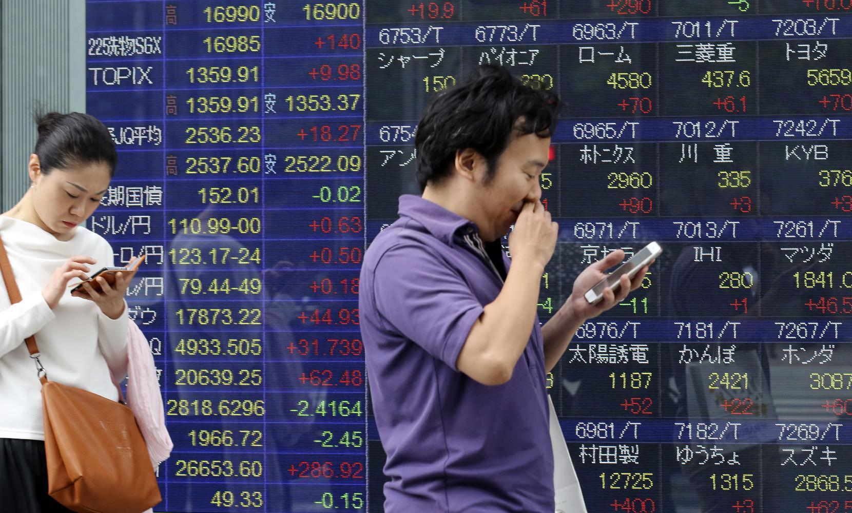 Asian stocks rise after Wall Street gains